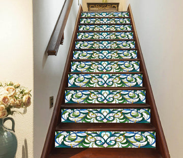 3D Flowers 6304 Stair Risers Wallpaper AJ Wallpaper