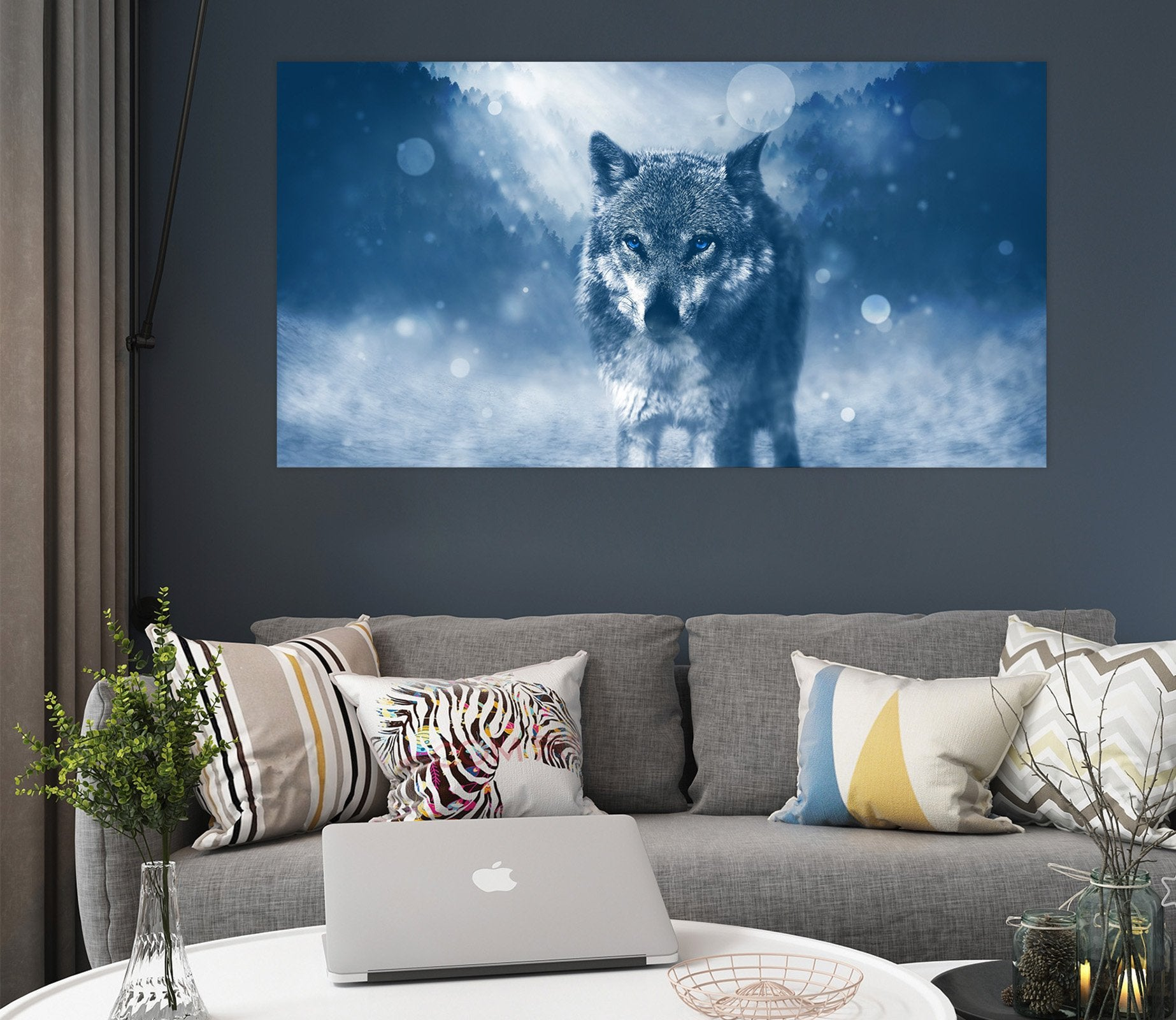 3D Wolf 131 Animal Wall Stickers