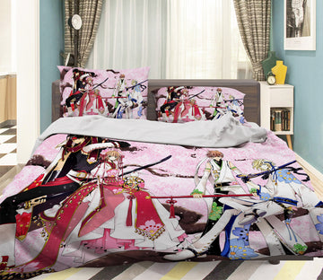 3D Tsubasa Reservoir Chronicle 063 Anime Bed Pillowcases Quilt