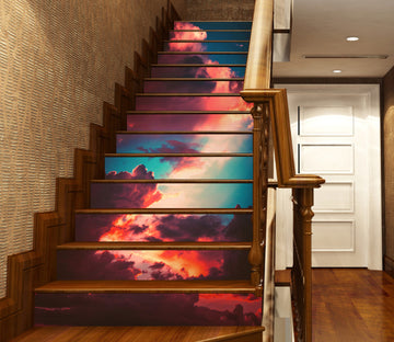 3D Strange And Beautiful Clouds 630 Stair Risers