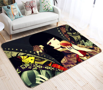 3D Hell girl 2688 Anime Non Slip Rug Mat Mat AJ Creativity Home
