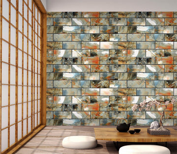 3D Brick Color Painting 40 Wallpaper AJ Wallpaper
