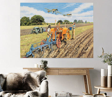3D Ploughing For Britain 056 Trevor Mitchell Wall Sticker