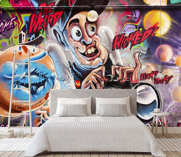 3D Graffiti Wall Painting 155 Wall Murals