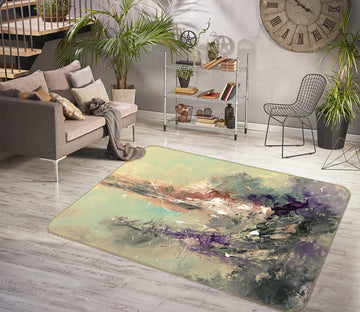 3D Grassland Colors 1011 Anne Farrall Doyle Rug Non Slip Rug Mat