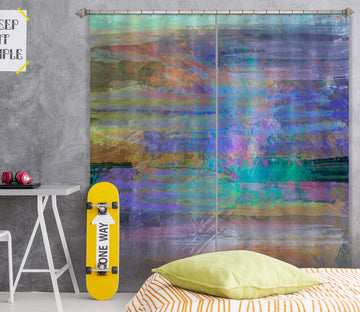 3D Color Graffiti 233 Michael Tienhaara Curtain Curtains Drapes