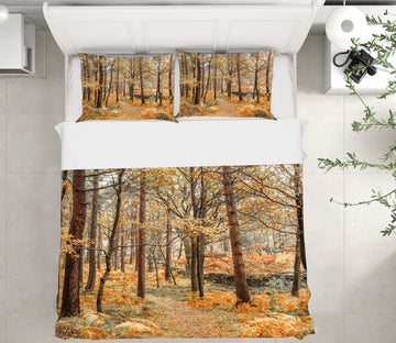 3D Maple Forest 1066 Assaf Frank Bedding Bed Pillowcases Quilt