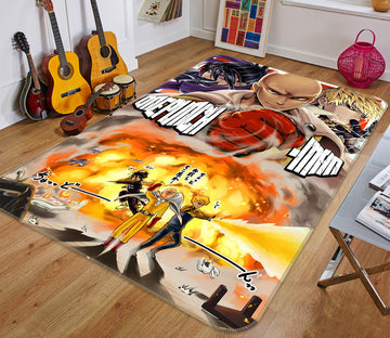 3D One Punch Man 7900 Anime Non Slip Rug Mat