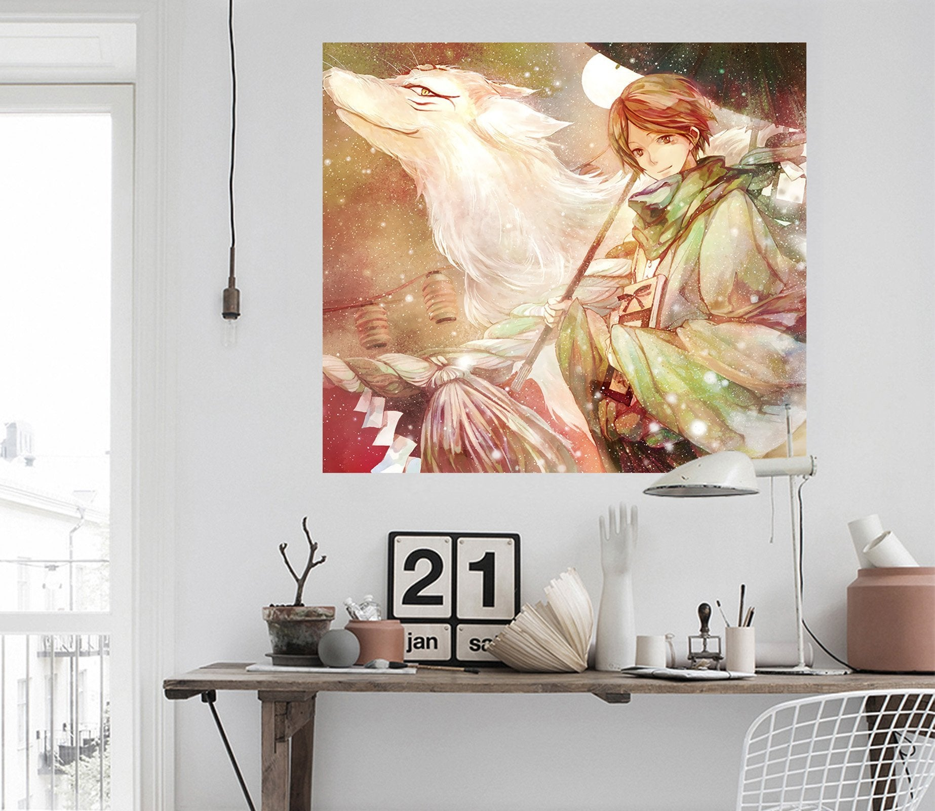 3D Natsume 443 Anime Wall Stickers Wallpaper AJ Wallpaper 2