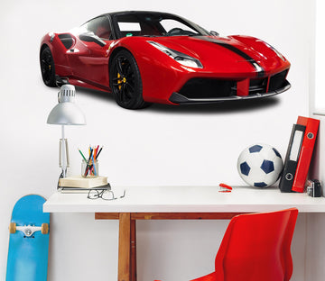 3D RED Ferrari 0151 Vehicles Wallpaper AJ Wallpaper