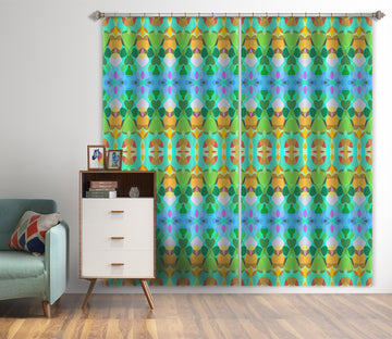 3D Delicious Burger 035 Shandra Smith Curtain Curtains Drapes