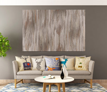 3D Brown Vertical Stripes 80112 Studio MetaFlorica Wall Sticker