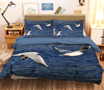 3D Seabird 1939 Bed Pillowcases Quilt