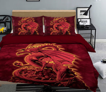 3D Abolisher Red Version 2106 Bed Pillowcases Quilt Exclusive Designer Vincent Quiet Covers AJ Creativity Home