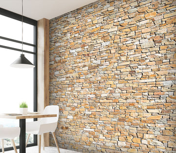 3D Bricks Stacked 1416 Wall Murals