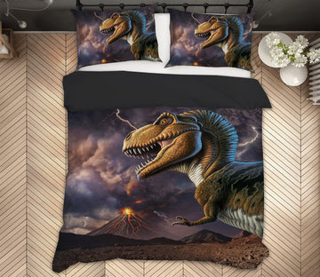 3D Volcano Rex 2135 Jerry LoFaro bedding Bed Pillowcases Quilt