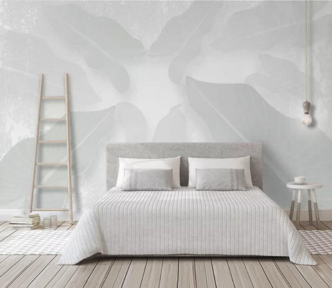 3D Abstract Leaves WC76 Wall Murals Wallpaper AJ Wallpaper 2
