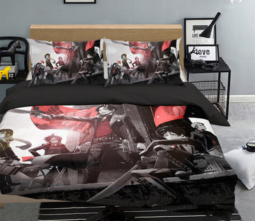 3D Attack On Titan 1638 Anime Bed Pillowcases Quilt Quiet Covers AJ Creativity Home