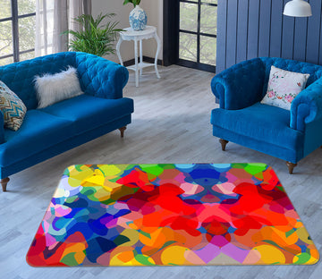 3D Colorful Pattern 1009 Shandra Smith Rug Non Slip Rug Mat