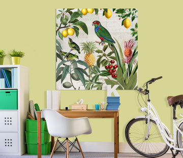 3D Fruit Paradise 022 Andrea haase Wall Sticker