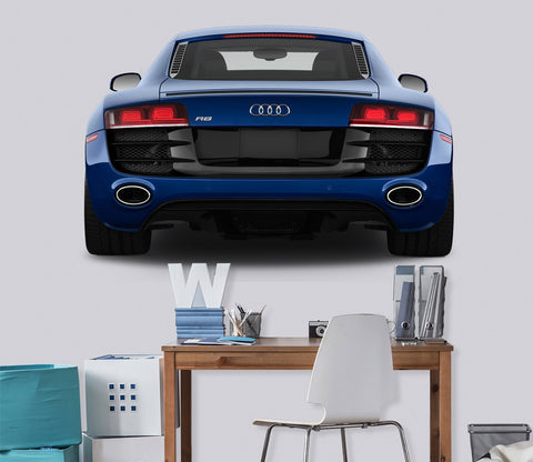 3D Audi R8 Tail 0119 Vehicles Wallpaper AJ Wallpaper