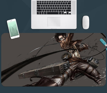 3D Attack On Titan 356 Anime Desk Mat Mat AJ Creativity Home