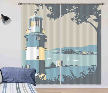 3D Plymouth 129 Steve Read Curtain Curtains Drapes