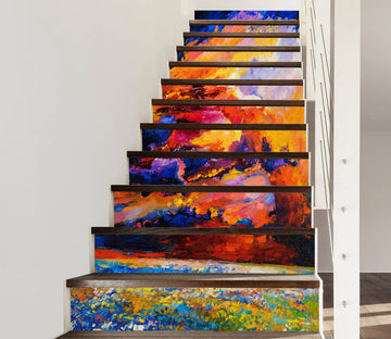 3D Paint 8351 Stair Risers Wallpaper AJ Wallpaper