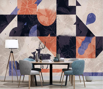 3D Geometric Art Interlaced 2588 Wall Murals