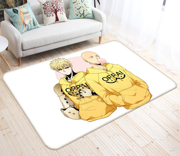 3D One Punch Man 7899 Anime Non Slip Rug Mat