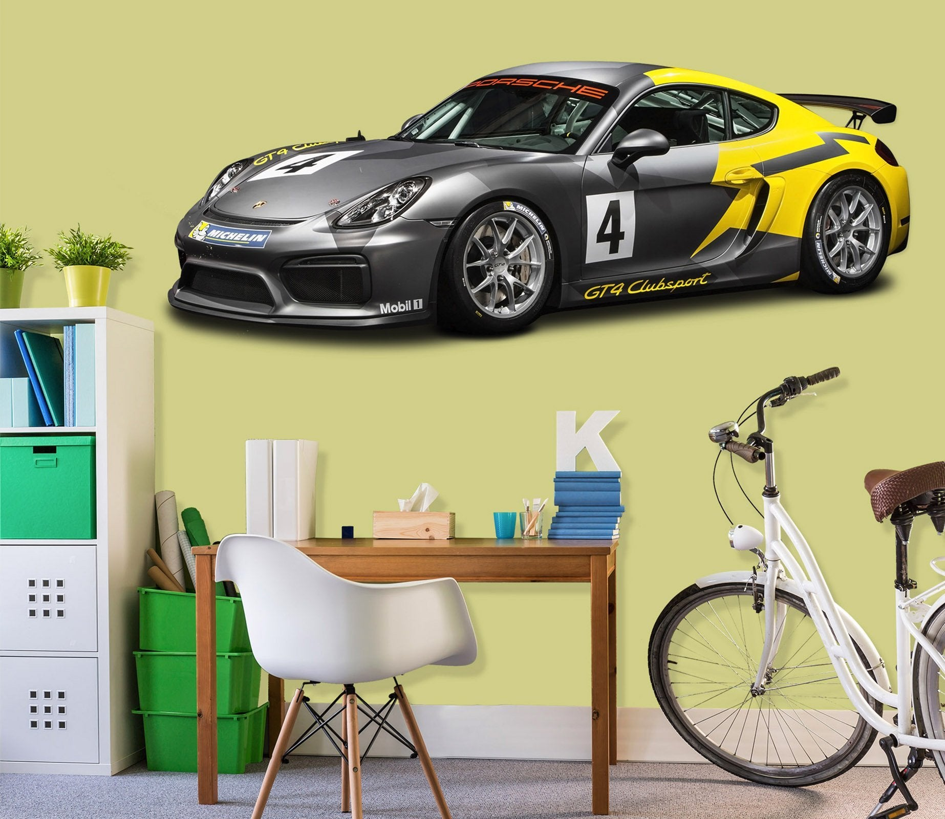 3D Sport Car Black 0273 Vehicles Wallpaper AJ Wallpaper