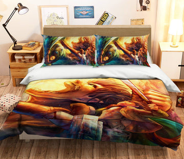 3D Attack On Titan 1482 Anime Bed Pillowcases Quilt Quiet Covers AJ Creativity Home