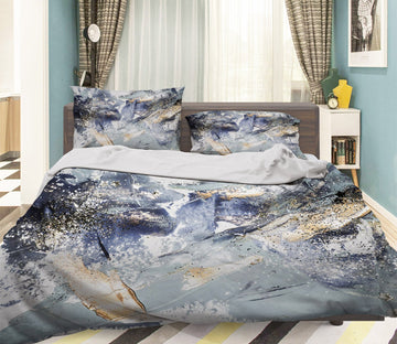 3D Abstract Smear Pigment 057 Bed Pillowcases Quilt Wallpaper AJ Wallpaper