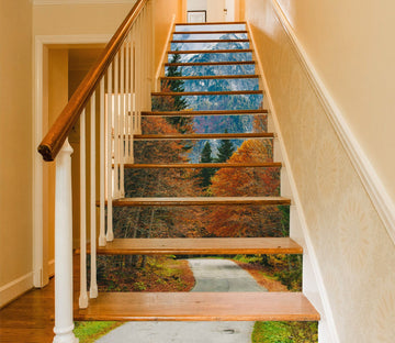3D Natural Scenery 956 Stair Risers Wallpaper AJ Wallpaper