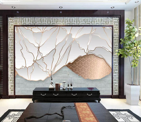 3D Abstract Lines WC46 Wall Murals Wallpaper AJ Wallpaper 2