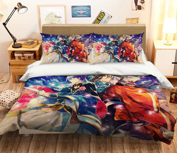 3D Touken Ranbu 055 Anime Bed Pillowcases Quilt