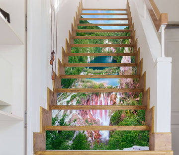 3D Spectacular And Beautiful Scenery 618 Stair Risers
