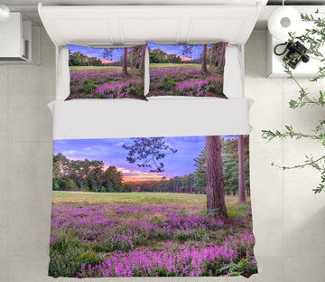 3D Lavender Tree 1060 Assaf Frank Bedding Bed Pillowcases Quilt