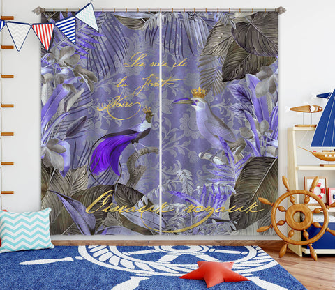 3D Kings Of The Jungle 075 Andrea haase Curtain Curtains Drapes