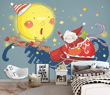 3D Moon Doll 1723 Wall Murals