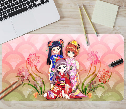 3D Cardcaptor Sakura 655 Desk Mat Mat AJ Creativity Home