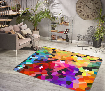 3D Bright Colors 1003 Shandra Smith Rug Non Slip Rug Mat