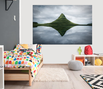 3D Mountain River 168 Marco Carmassi Wall Sticker