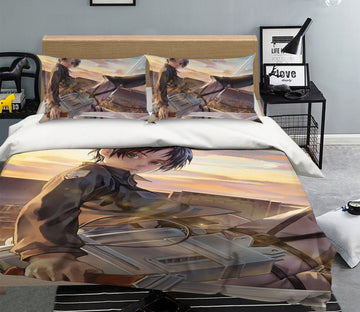 3D Attack On Titan 1263 Anime Bed Pillowcases Quilt Quiet Covers AJ Creativity Home
