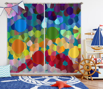 3D Colored 71037 Shandra Smith Curtain Curtains Drapes