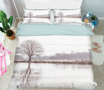 3D Lake Dead Tree 1080 Assaf Frank Bedding Bed Pillowcases Quilt