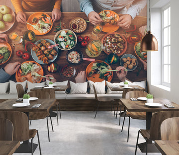 3D Tasting Food 338 Wall Murals