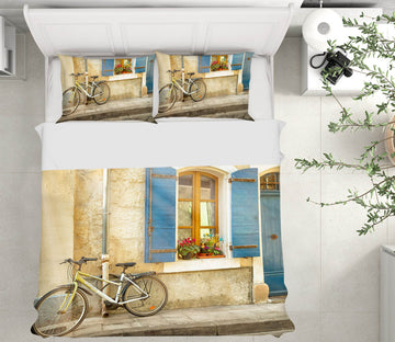 3D Arles Bicycle 006 Marco Carmassi Bedding Bed Pillowcases Quilt