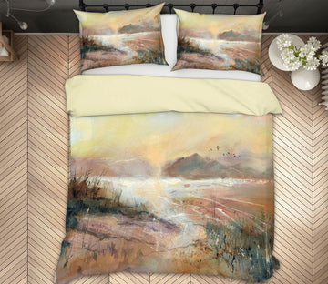 3D Beautiful Mountain 2002 Anne Farrall Doyle Bedding Bed Pillowcases Quilt Quiet Covers AJ Creativity Home