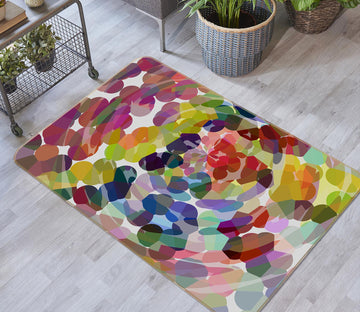 3D Colorful Pattern 1005 Shandra Smith Rug Non Slip Rug Mat